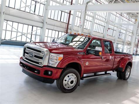 2015 ford f 450 platinum 2015 ford f 450 platinum look diesel power magazine