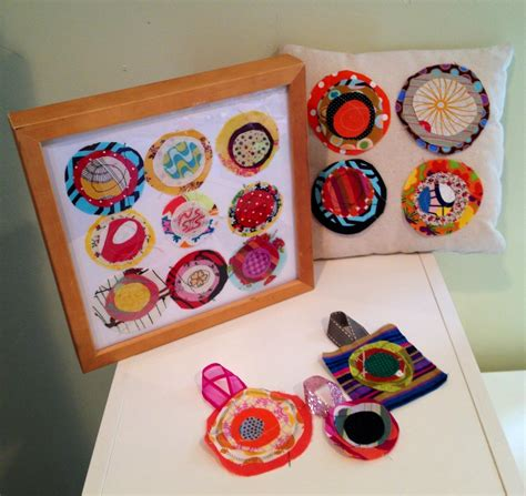 fabric crafts for children 10 easy crafts using fabric scraps noelle o