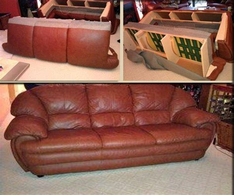 Couch Disassemble Service Elevator Before And After Photo