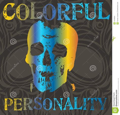 colorful personality colorful personality stock images image 14199304