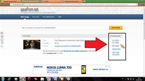 download youtube selain savefrom cara mendownload video youtube tanpa software wawasan goyes