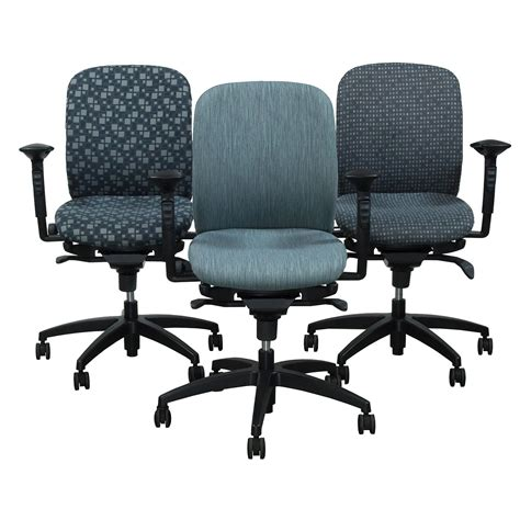 teknion office furniture teknion amicus synchro used midback task chair custom
