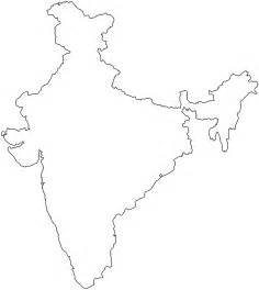 India Map Outline by India Map Silhouette Free Vector Silhouettes