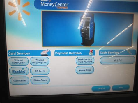Kiosk For Gift Cards - guide to loading bluebird at a walmart moneycenter kiosk with debit gift cards
