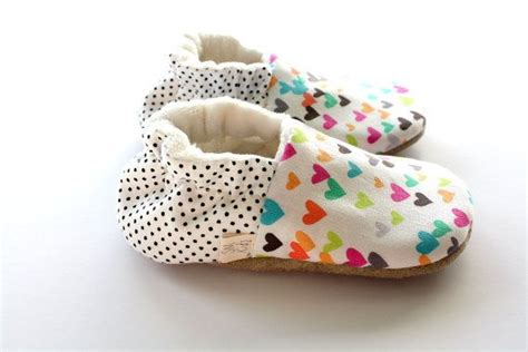 Karpasa Slip On Baby Colour multi color hearts polka dots baby slip on shoes