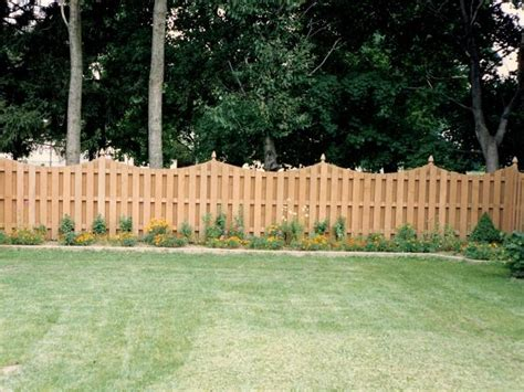 america s backyard fence wood privacy fences all american fence