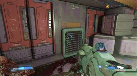 doom secret rooms lazarus labs secrets doom guide walkthrough gamepressure
