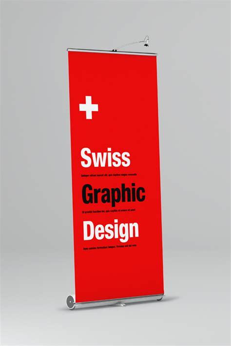 mockup design banner roll up banner mock up on behance