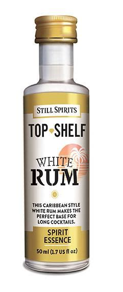 Top Shelf Spiced Rum by Top Shelf White Rum