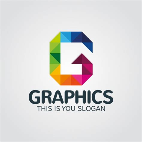 free logo design using letters abstract colorful letter g logo vector free download