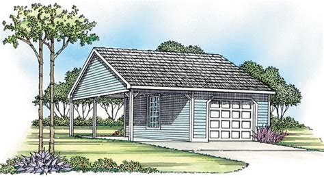 Sip Home Plans 14 X 24 1 Car Garage Carport Structall Energy Wise