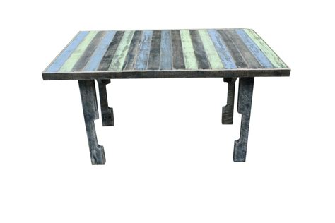 Dining Table Made From Pallets Custom Pallet Wood Dining Table Style By Blue House Furniture Custommade