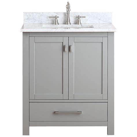 Avanity Modero 31 In W X 22 In D X 35 In H Vanity In Gray Bathroom Vanity