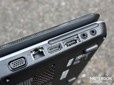 review toshiba satellite l550 207 notebook notebookcheck net reviews