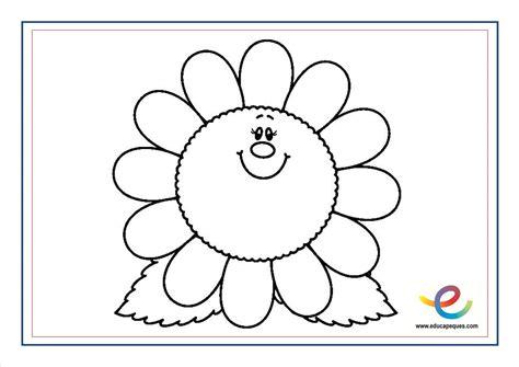imagenes educativas para preescolar flores para colorear recursos educativos