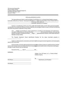 warranty deed template free 43 free warranty deed templates forms general special