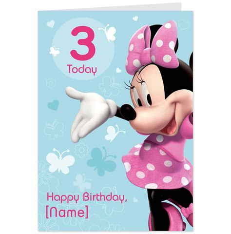 printable birthday cards minnie mouse 8 best images of minnie mouse printable birthday cards
