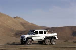 mercedes g63 amg 6x6 truck details and pictures