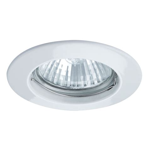 paulmann premium gu10 79mm white recessed ceiling light