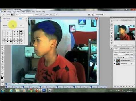 tutorial photoshop cs3 mewarnai rambut cara mewarnai rambut dengan cepat dan mudah di photoshop