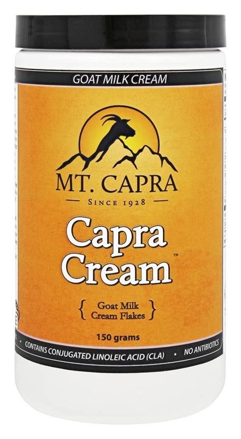 150 Gram Creme 21 Isi 150 Gram Vit E Diskon buy mt capra products capra goat milk 150 grams at luckyvitamin
