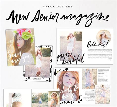 Birdesign Blog Page 5 Senior Magazine Templates For Photographers