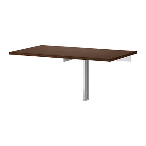 Wall Mounted Folding Table Bjursta Wall Mounted Drop Leaf Table Ikea