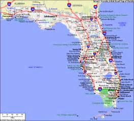 satellite map of florida