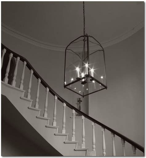 Stairwell Pendant Lights Norfolk Lantern Traditional Staircase Sydney By Magins Lighting