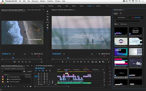Adobe Announces A Major Update Of The Creative Cloud Apps Ahead Of Nab 2018 4k Shooters Premiere Pro Cc Templates