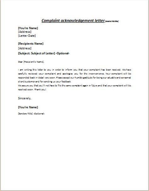 Acknowledgement Letter Of Complaint Sle Apology Letter For Mistake Occurred In An Account