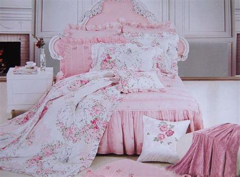 Pink Shabby Chic Bedding by Shabby Chic Style New Pink Cotton 4pc Bedding Duvet Cover