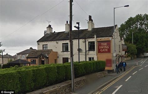 swing gate pub bradford pictured married police officer who used roadside camera