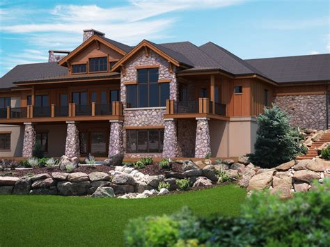Superb House Plans With Walkout Basement 6 Ranch House Walkout Rancher House Plans