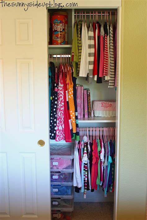 Kids Closet Organization  Sunny Side  Blog