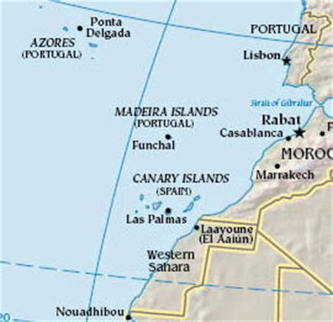 islas canarias y africa mapa canarias y africa mapa 28 images tenerife espa 241 a