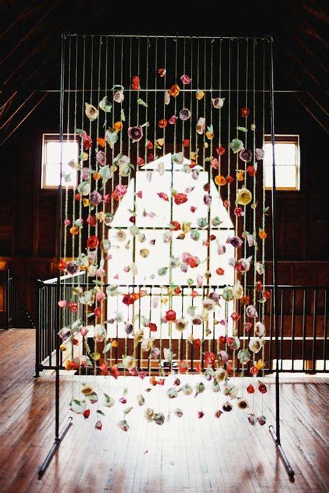 Handmade Backdrops - 20 diy paper wedding backdrops brit co