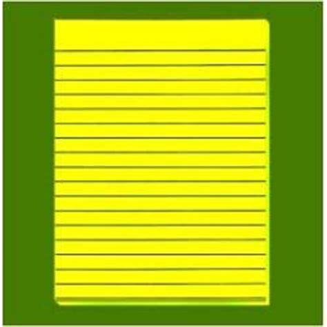 yellow writing paper yellow bold line writing paper 8 5 x 11
