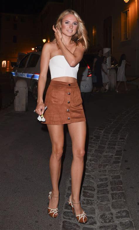 kimberley garner night out style   st tropez july 2015