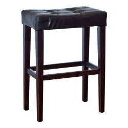29 Inch Bar Stool Palazzo 29 Inch Saddle Bar Stool Black Bar Stools At Hayneedle