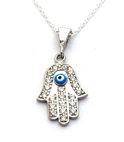 cz hamsa necklace mostoriginal