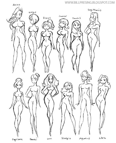 how to draw bodies 17 best ideas about types on