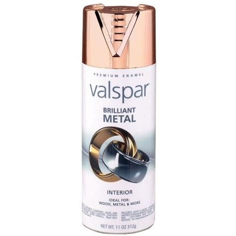 valspar brand brilliant metal spray paint pack of 6 back to metals and copper