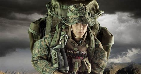 Hbj1467 16 Multicam Devgru Sniper Set top stuff veryhot 1 6 usmc m40a3 sniper set
