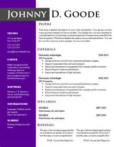 Color Resume Templates Nine Two Color Palettes Resume Templates 702 710