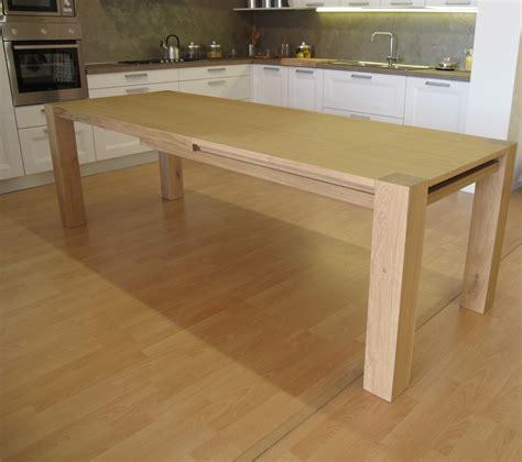 tavolo legno allungabile prezzi tavolo in legno massiccio rovere allungabile tavoli a