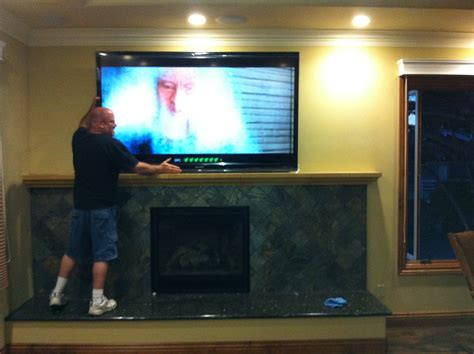 80 Inch Tv Unboxing by Sharp 80in Tv Installation In Aptos Ca Mw Home