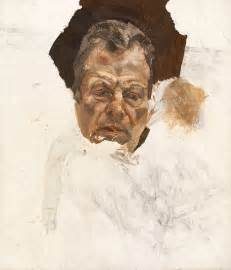lucian freud s unseen self portrait and sketchbooks go on view