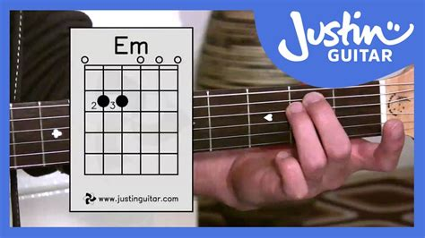 tutorial chord guitar youtube the emin chord guitar lesson bc 122 guitar for beginners