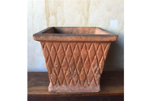 Square Terra Cotta Planter Omero Home Terra Cotta Planter
